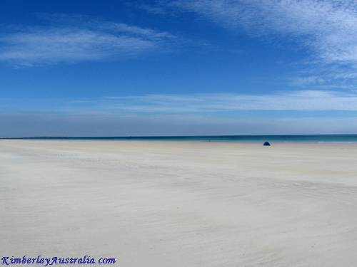 Beach in Broome Australia